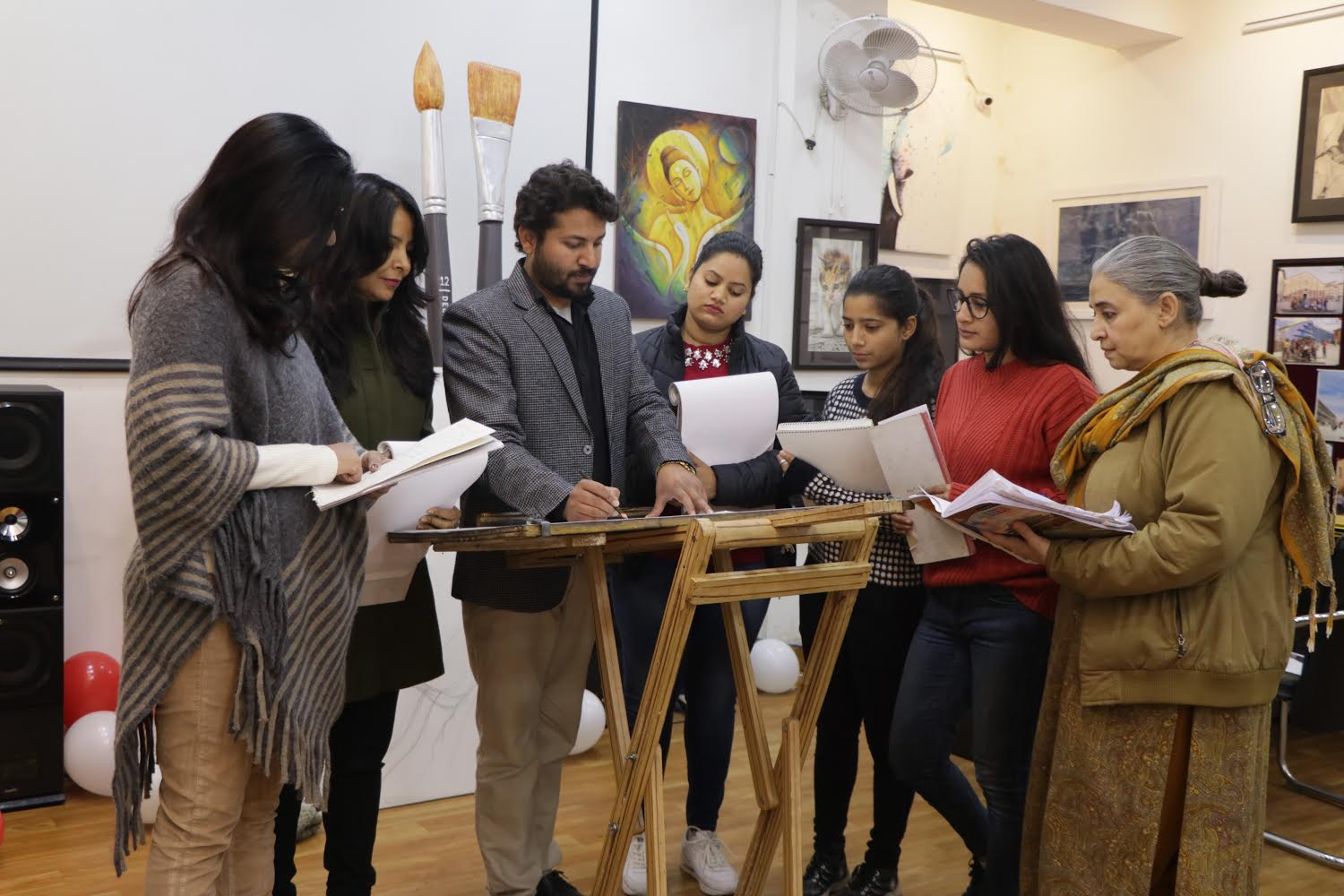 Best Fine Art College in Dehradun - BFA + DFA