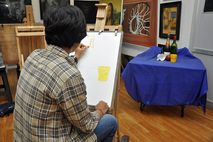Best Fine Art College in Dehradun - Diploma in Fine Arts